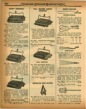 1926 PAPER AD Rug Carpet Beaters Rattan Just Right teel Wire Spring Handle 5