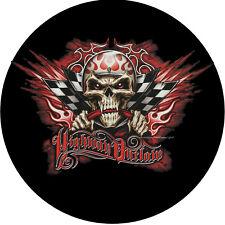 Auto T-Shirt Tuning Hot Rod Garage Rockabilly Kustom Racing Speed Skull *4270 bl