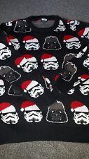 Boys Star Wars Christmas Jumper Age 8-9 Years