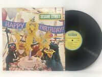 Sesame Street Happy Birthday LP Vinyl Record Original Pressing 1977 CTW 22078