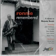 Ronnie Remembered - A Tribute to Ronnie Scott featuring Critchinson Drew & more