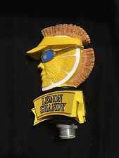 SHOCK TOP LEMON SHANDY BEER TAP HANDLE HUGE TAPPER SALE MIB READ DESCRPT TOPPER