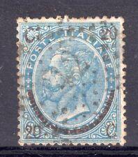 ITALY = 1855 20c on 15c Blue, SG18 (Type 2), Numeral cancel. Fine Used. (Au076)