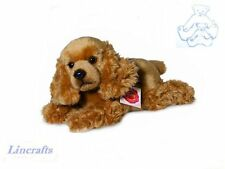 Lying Cocker Spaniel  Plush Soft Toy Dog by Teddy Hermann Collection 92708