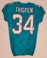 #34 Marcus Thigpen Authentic Miami Dolphins Game Issued/Player Worn Jersey