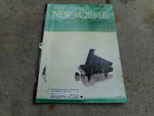 MARCH 29 1999 NEW YORKER vintage magazine - PIANO CONCERT