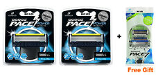 New Dorco Pace 7 Power Razor Blades 8 Cartridges + Free Gift  BRAND NEW SEALED