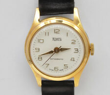 Tunis vintage 1955/60 mechanical gold plated unisex watch new old stock unused