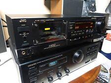 JVC TD V621 3 Head Dual Capstan Hi-End Stereo Cassette Tape Deck & BONUS