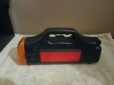 VINTAGE LIGHT WITH FLASHING EMERGENCY LIGHT & BUILT IN TOOL SET***WORKS GREAT