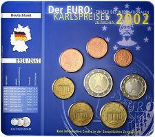 """Alemania 2002 (F) - Edición Especial (BU) 8 Euro Moneda Juego """" """""""