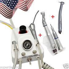 USA Dental Turbine Unit work with Air Compressor + High/Low Speed Handpieces oie