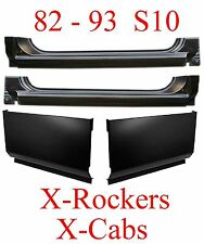 82 93 S10 Extended Rocker & Extended Cab Corner 4Pc Kit Chevy GMC