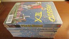 TEX 310 A 319 + MAXI TEX L'ORA DEL MASSACRO BLISTERATO CON TARGHETTA DI LATTA
