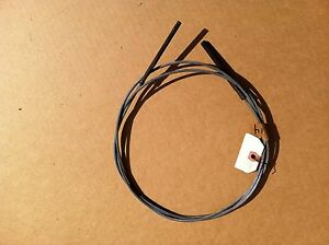 Studebaker brake cable;  about 80 inches.     Item:  1875