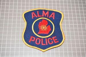 Alma Michigan Police Department Patch (US-Pol)