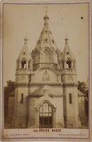 Parigi Eglise Russe Foto Ladrey Cartolina Armadio P15Ln16 Vintage Albumina