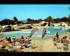 """HAMMAM / SOUSSE (TUNISIE) PISCINE à l'HOTEL Club """"EL KANTAOUI"""" animée"""