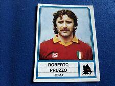 ALBUM CALCIATORI PANINI 1983/84 Figurina n°216 ROBERTO PRUZZO ROMA  rec