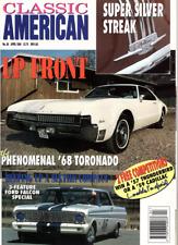 CLASSIC AMERICAN CARS Magazine. #36 Apr 1994 - '68 Oldsmobile Tornado