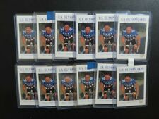 (12) Lot 1992 Impel U.S. Olympicards Lance Armstrong Cycling #31 C75