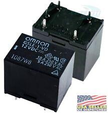 Omron RELAY, 12VDC SPDT, 250VAC, 30VDC, 10A NWK PN:  G5LE-1-VD DC12 (Pack of 2)