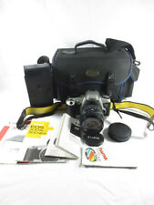 Canon 500n Spiegelreflexkamera mit Exakta 28-80mm 3.5-5.5 Aspherical Objektiv