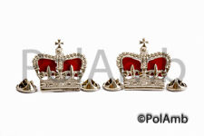 Police Superintendent Crowns Rank Badges Metal Epaulettes insignia Pips Insp Pin