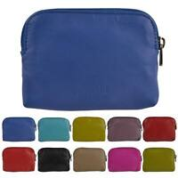 Ladies Super Soft Leather Coin Purse in 10 Colours by Golunski with Credit Card