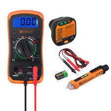 New Listingdigital Multimeter Non Contact Voltage Tester Pen Socket Tester Test Kit