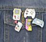 Video Game Arcade Retro Controller - Enamel Pin Pins Badge Badges Funny Quotes