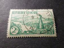 FRANCE -1935 - yv 301, rivière bretonne - oblitéré