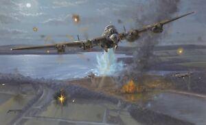 Limited Edition Aviation Print Night of Heroes The Dambusters by Philip E West