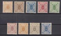 BB5666/ ICELAND – OFFICIAL – 1876 / 1900 MINT CLASSIC LOT - CV 370 $