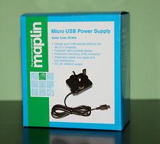 MAPLIN MICRO USB POWER SUPPLY N19HX