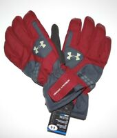 New Under Armour Mens Treblecone Ski Snowboard Gloves Large