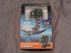 Rollei Actioncam 100 Action-cámara cámara de 5 megapíxeles impermeable amarillo vkf nuevo