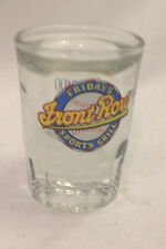 FRIDAY'S FRONT ROW SPORTS GRILL ORLANDO FLORIDA SHOT GLASS THICK DOUBLE WALLED