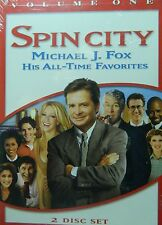 SPIN CITY VOLUME ONE 11 Episodes Michael J. Fox Heather Locklear 2-Disc SEALED