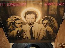 PETE TOWNSHEND ~ Empty Glass lp 1980 w/ Lyrics NM!
