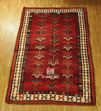 South Persian Gasghai Gabbeh Nomad Deep-Pile Carpet 216x147cm Rug