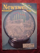 NEWSWEEK mag January 12 1970 CAN INFLATION BE STOPPED?