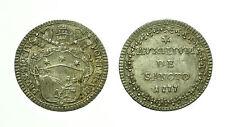 pcc1583_11) Stato Pontificio Pio VI (1775-1799) - Grosso 1777 TONED