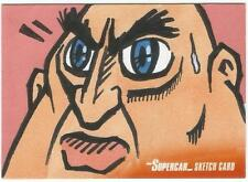 Supercar Gerry Anderson Sketch Card drawn by Rory McQueen