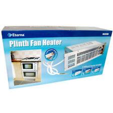 Eterna Plinth 2.4kw Electric Under Unit Fan Heater Steel Brown White Oven