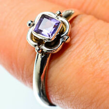 Tanzanite 925 Sterling Silver Ring Size 8.75 Ana Co Jewelry R25423F