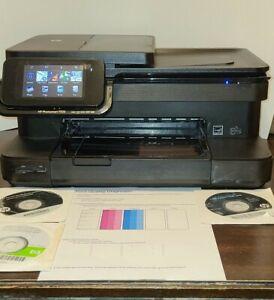 HP Photosmart 7525 Wireless All In One Inkjet Printer w/ Software XLNT-WORKS