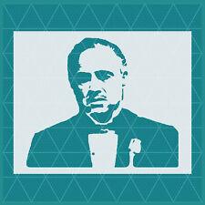 Godfather Stencil | Mylar (Plastic Sheet) | Reusable | Scarface