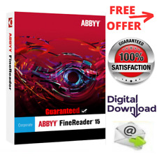 ABBYY Finereader Corporate Edition 15 Software Lifetime Activation For Windows