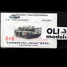 1/72 Leopard C1A1 MEXAS KFOR RESIN Conversion for Leopard 1A5 Modell Trans 72164